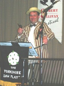 Soloist at a Gilbert & Sullivan Festival in Buxton