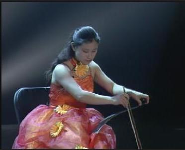 Chinese Saw Player
